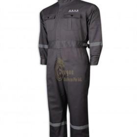 D318  How to Buy  One piece reflective strip uniform one piece
