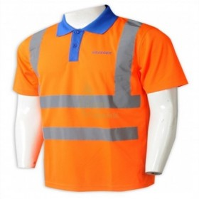D329 Where to Buy Gek Poh  Tailored short sleeve reflective industrial uniform