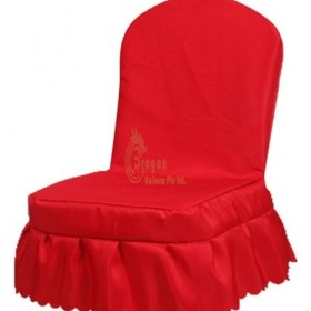 SC035  Customized chair cover for hotel restaurant