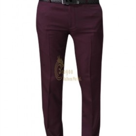 MT011  Where to Find  Making wine red men's trousers