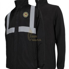 SE060  How to Purchase  Custom made black security jacket