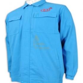D296  Supply to  Defu  Customized long sleeve industrial uniform