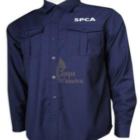 SE063  Send to  Lavender  Making security uniform T-shirt