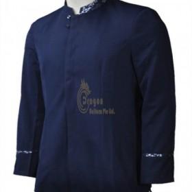 KI092 Supply to  Toa Payoh Make button men's uniform