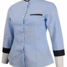 HL017  Where to Purchase Boon Keng Order women's fit hotel uniform